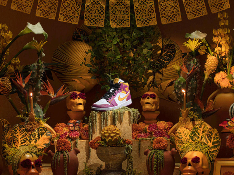 """Nike """"Day of the Dead"""" Collection"""