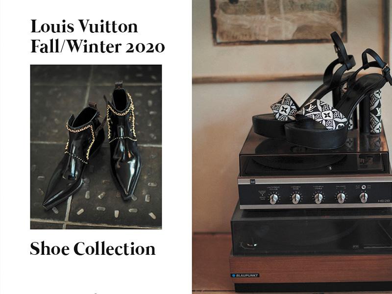 Louis Vuitton Fall/Winter 2020 Shoe Collection