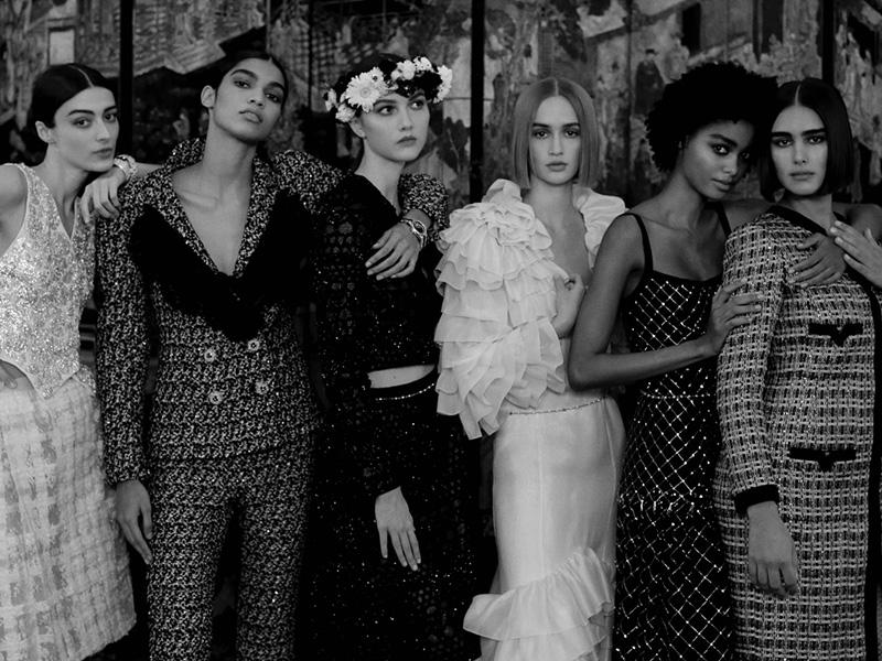 A high fashion family reunion