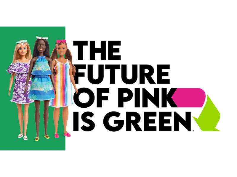 Barbie goes green!